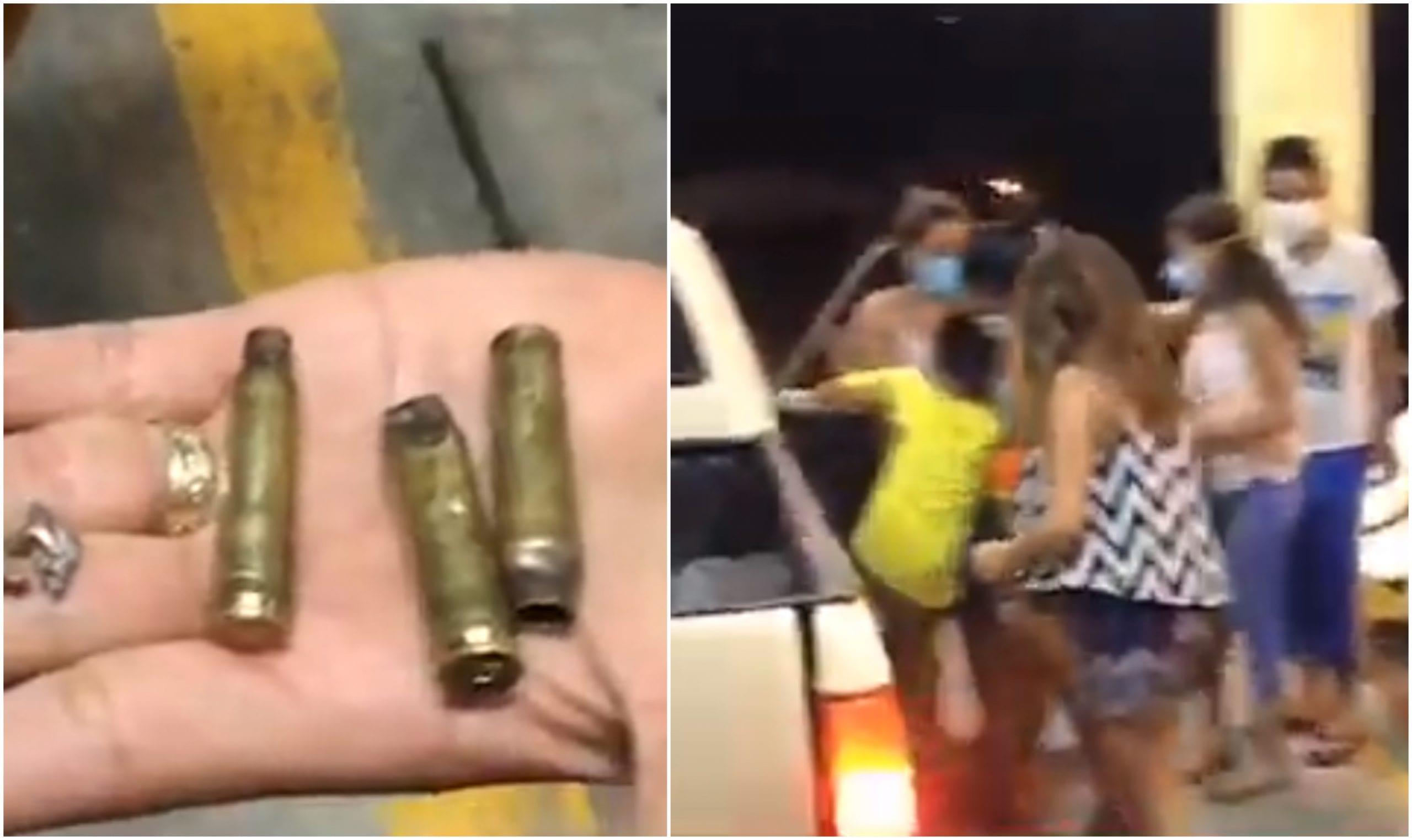 """""""Solo porque estábamos reunidos en la casa, llegaron y dispararon"""" dijo una de las víctimas"""