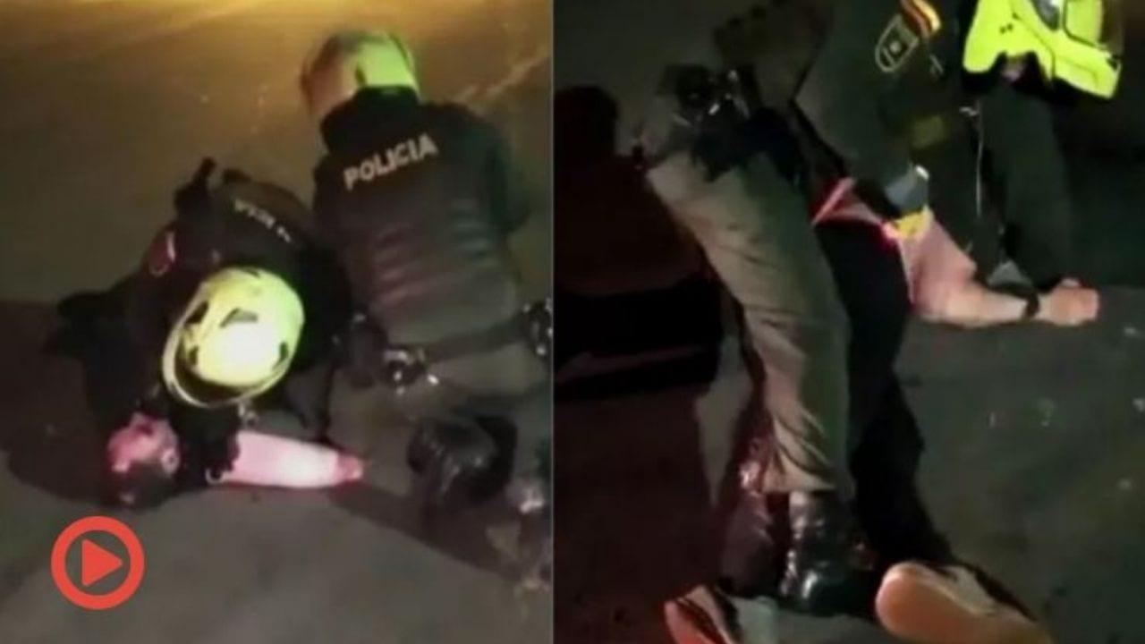 A pesar de los gritos de clemencia, tanto de los amigos como del detenido, los agentes seguían, incluso, poniendo la rodilla sobre la humanidad del abogado, se informó.