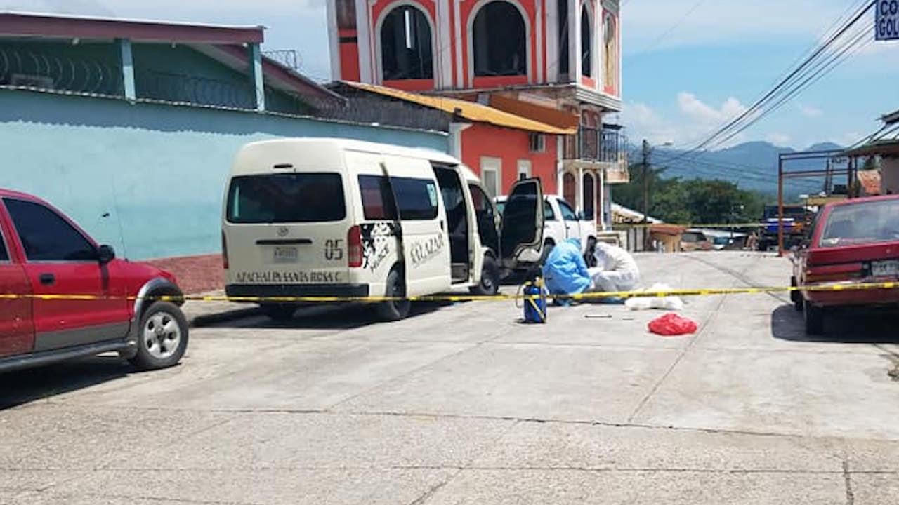 Medios locales grabaron la triste escena de lo ocurrido.