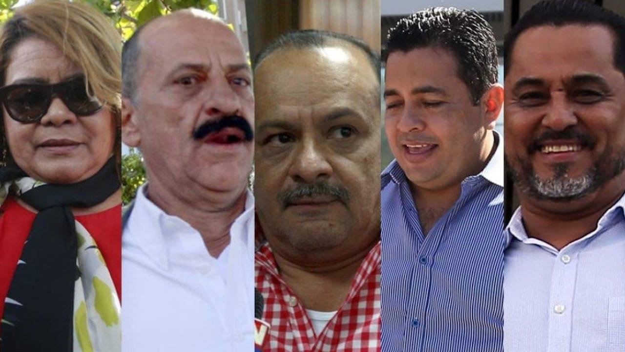 Los cinco involucrados son: Audelia Rodríguez, Augusto Cruz, Dennys Sánchez, Héctor Padilla y Eleazar Juárez