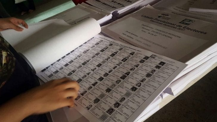 Autoridades del RNP confirman que base de datos del censo actual no genera confianza para las elecciones del 2021