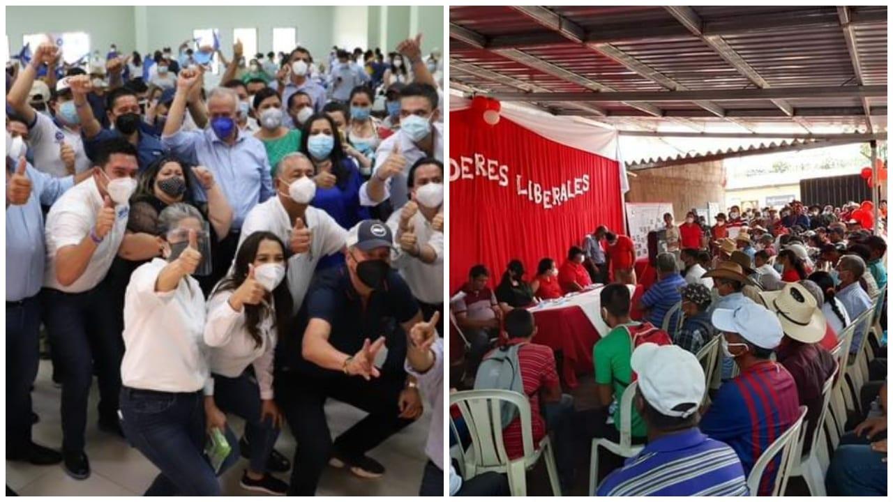 Los diferentes líderes políticos de Honduras comenzaron sus recorridos a nivel nacional de cara a el proceso electoral de marzo en 2021.