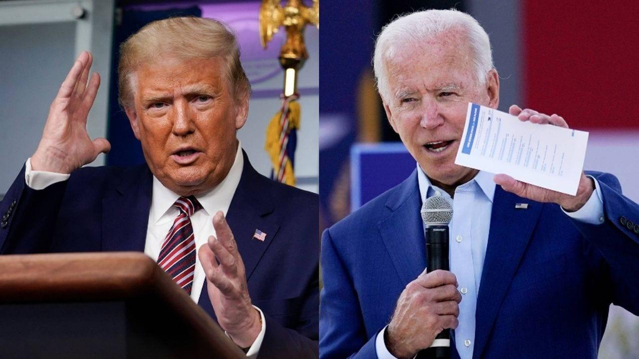 """""""Debes de salir del bunker y del campo del golf y salir a buscar lo que se requiere para salvar vidas"""", instó Biden a Trump"""