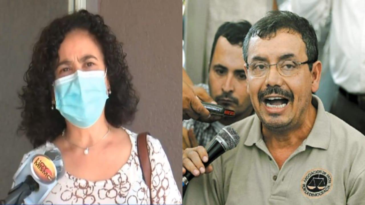 Guillermo López Lone es uno de los magistrados restituidos por el Poder Judicial después de ser separado por oponerse al derrocamiento del expresidente Manuel Zelaya.