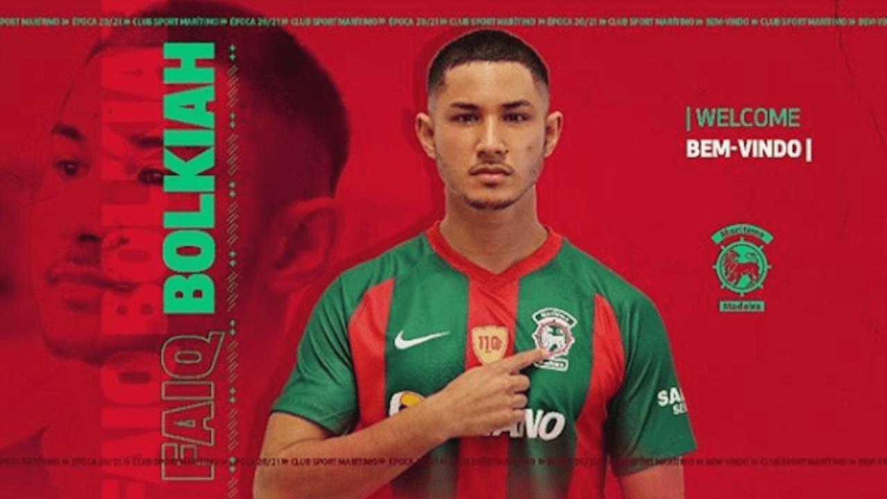 Faiq Bolkiah, de 22 años, juega como extremo y fichó recientemente para el Marítimo de Funchal
