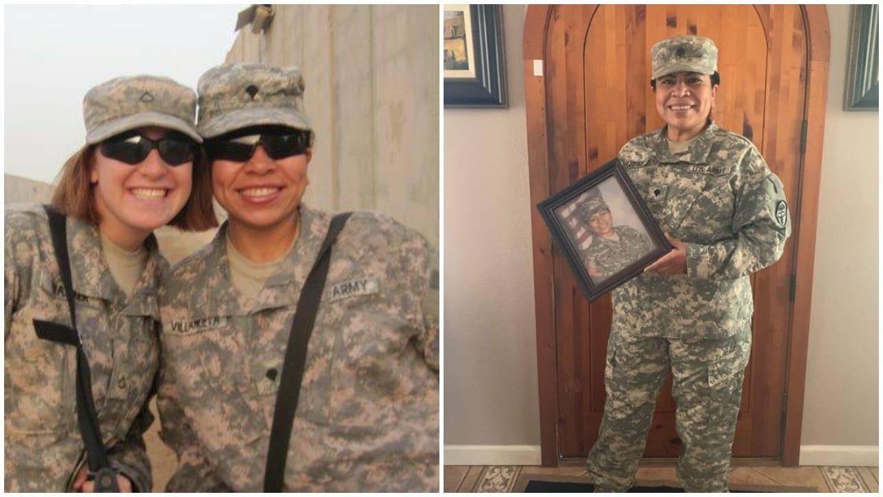 La hondureña formó parte del Ejército estadounidense y estuvo presente en diferentes combates en Irak.
