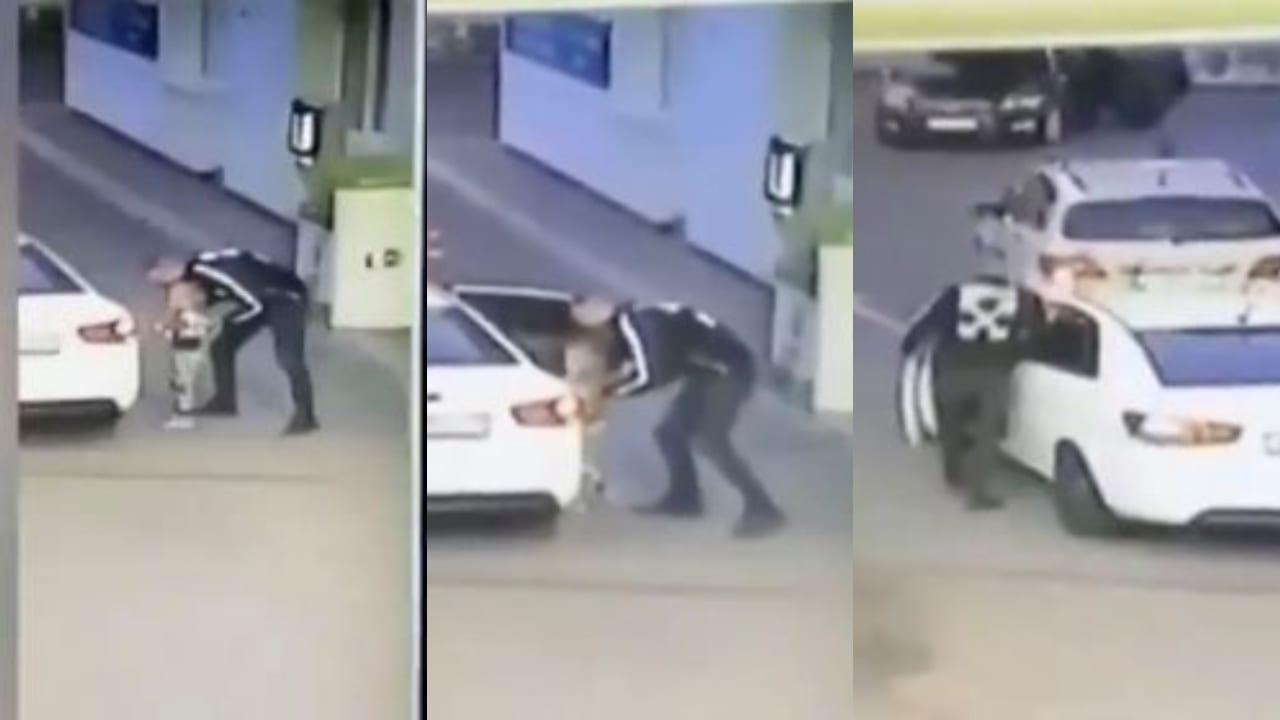 En un descuido de los padres, el hombre aprovechó para llevarse a la niña en un automóvil color blanco.