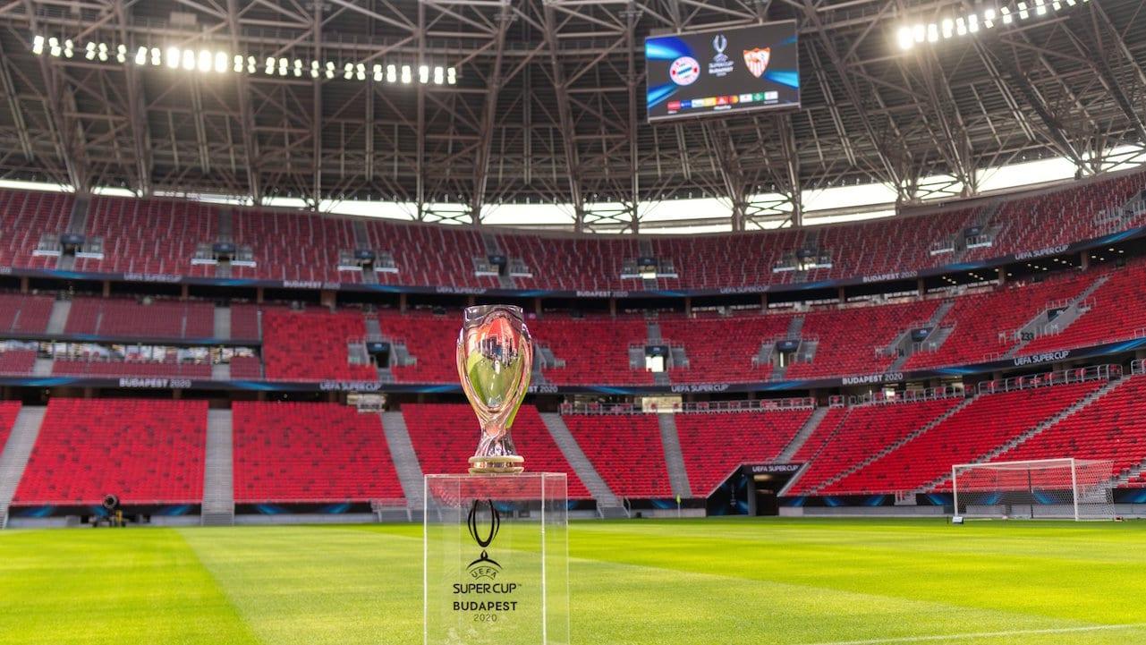 La UEFA ha establecido un máximo de 20 mil espectadores en el Puskas Arena, que tiene capacidad para 60 mil.