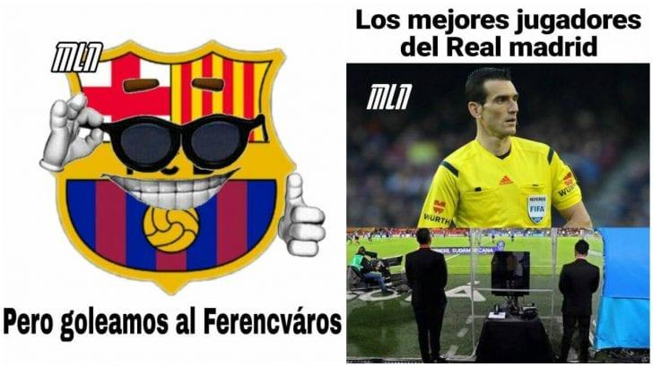 Los memes destrozan al Barcelona tras caer derrotado ante el Real Madrid