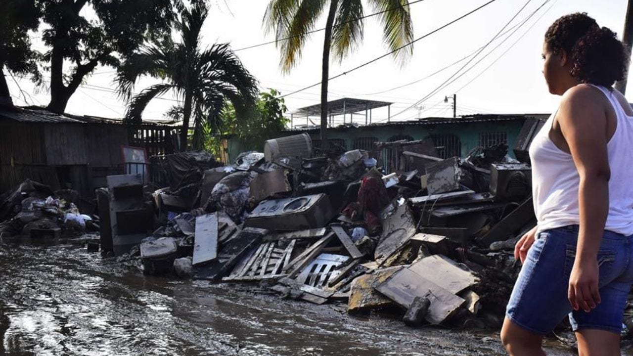 Aún existe amenaza de desbordamiento de los ríos de la zona norte, lo que podría provocar mayores pérdidas de las contabilizadas por Eta e Iota, aseguran autoridades