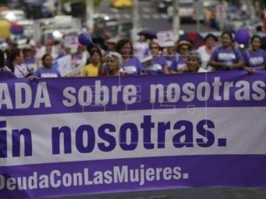 El Salvador registra 121 feminicidios en lo que va de 2020