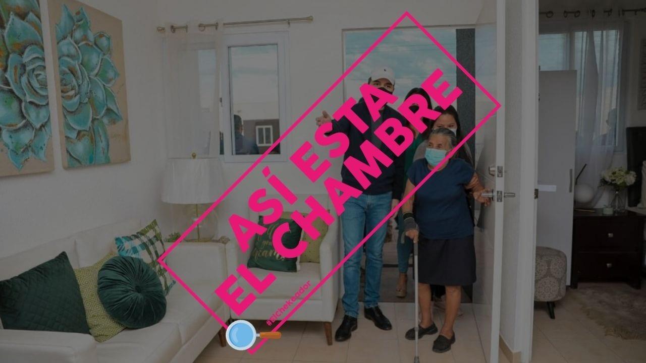 """El presidente de El Salvador anunció la entrega de 252 viviendas a los damnificados por diferentes fenómenos naturales durante 2020, sin embargo, hay detalles que se deben verificar por lo que te contamos todo """"el chambre"""""""