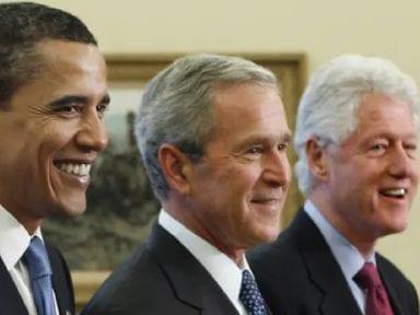 Expresidentes Obama, Bush y Clinton se ofrecen como voluntarios para vacunarse contra el covid-19 públicamente