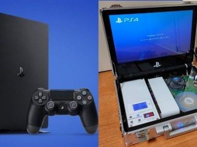 Ingeniero japonés construye una PlayStaton 4 portátil