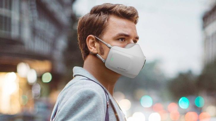 Una nueva mascarilla que elimina el 97,3% de virus y el 93% de bacterias