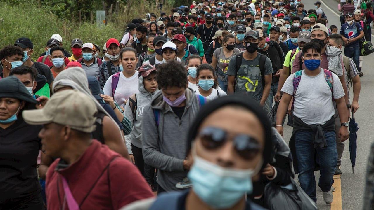 """Guatemala también llamó a los gobiernos centroamericanos que """"tomen las acciones correspondientes"""" con respecto a la migración"""