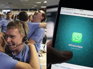 Así reaccionarán los 'espías' de WhatsApp a nuestros conversaciones, según los memes