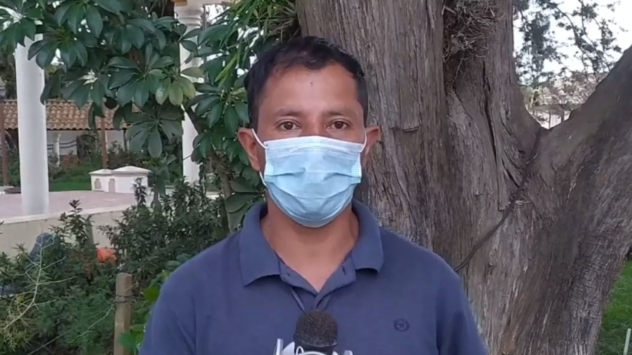 El corresponsal de Televicentro le ha dado cobertura a la muerte de Keyla Martínez, quien falleció por asfixia mecánica en una celda de la posta policial en La Esperanza