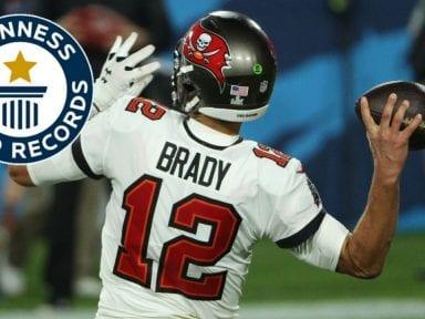 Conoce los récords Guinness que rompió Tom Brady en el Super Bowl LV