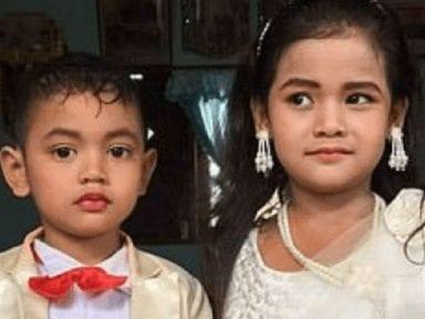 Padres unen en matrimonio a sus hijos de 5 años y la insólita razón ha indignado a todos