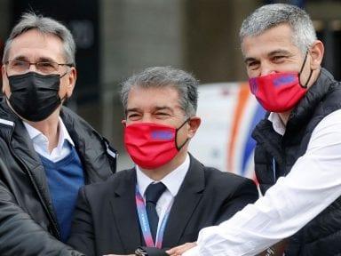 Laporta, nuevo presidente del FC Barcelona con casi el 58% de los votos