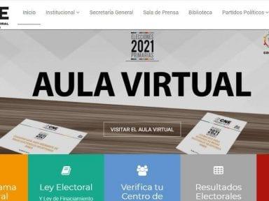 Habilitan aula virtual para que actores de las elecciones en Honduras conozcan más de sus funciones