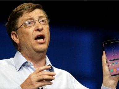 ¿Qué teléfono celular usa Bill Gates? Mira la sorprendente respuesta del magnate