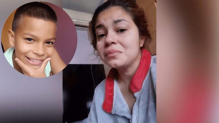 Karina Chinchilla clama a secuestradores de Enoc: 'Le pido a Dios que les toque el corazón'