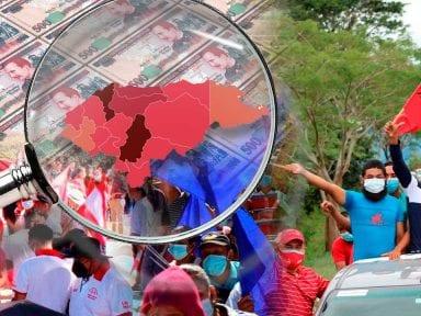 Mapa interactivo: conoce el límite de gastos de campaña por cada municipio de Honduras