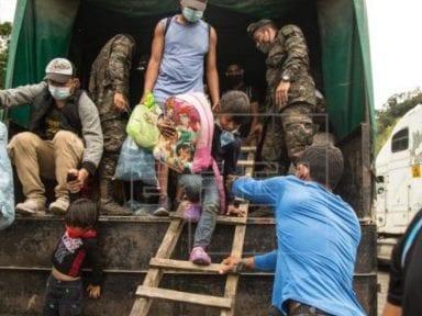 Deportación de inmigrantes hondureños disminuyó en 49.8 % entre enero y febrero