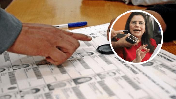 Rixi Moncada denuncia que hay 'crisis' de cara a las elecciones primarias