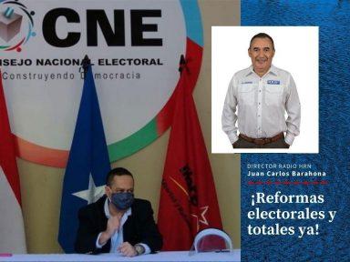 ¡Reformas electorales y totales ya!