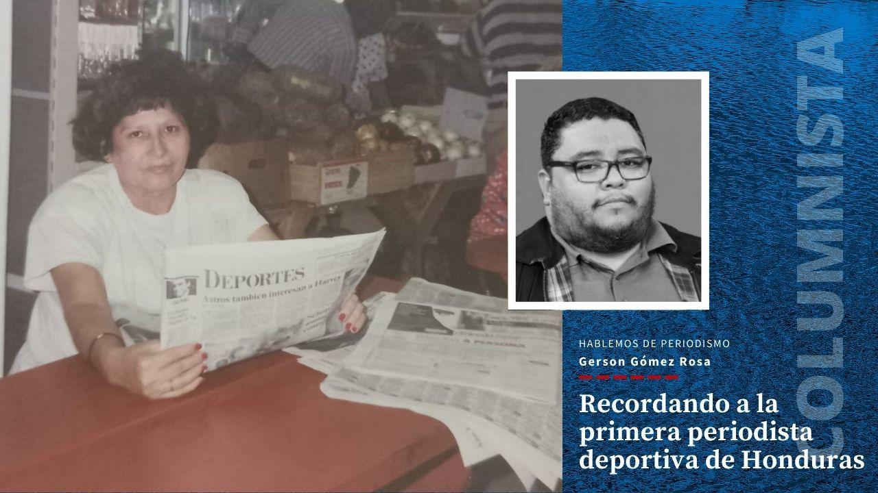 Hoy, martes 25 de mayo de 2021, se celebra en Honduras el Día del Periodista y desde hace muchos años que quise documentar la historia de Alicia, hasta que al fin lo he logrado