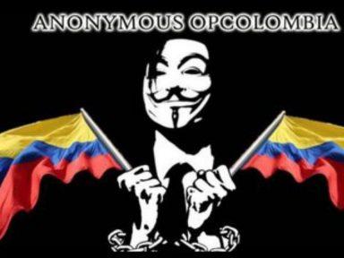 Anonymous hackeó la página oficial el portal web del Ejército, Senado y la Presidencia de Colombia