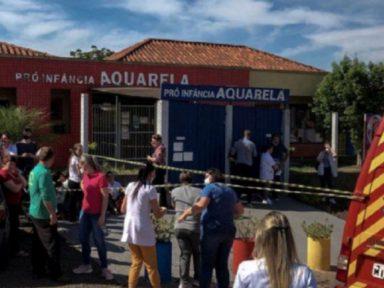 Entró a una guardería en Brasil y mató a tres niños y a dos maestras, luego intentó suicidarse