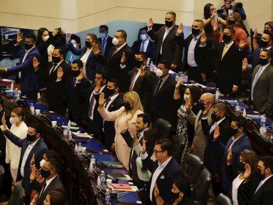 Nuevo Congreso afín a Bukele, destituyó en su primer día a jueces constitucionales de la Corte Suprema de Justicia de El Salvador
