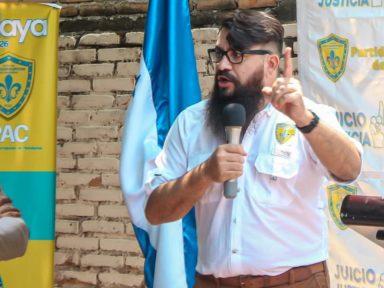 'Yo no estoy diciendo fuera JOH, digo fuera todos', candidato presidencial del PAC, Isaías Zelaya
