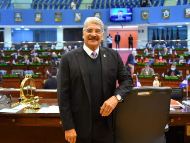 Expresidente del Congreso de El Salvador con orden de captura confirmó que está en Honduras