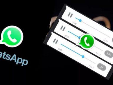 WhatsApp habilita la opción de 'acelerar audios', mira cómo activarla