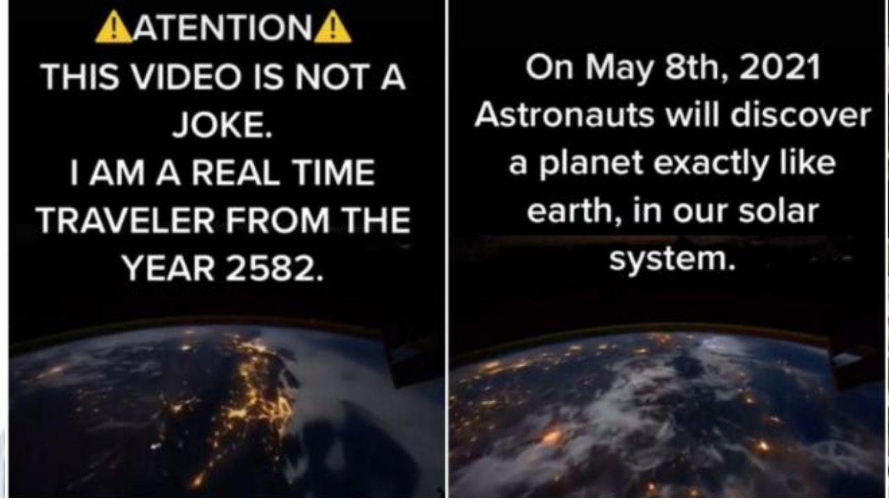 Mira el vídeo y quedarás asombrado con lo revelado por esta cuenta de TikTok que tiene a muchos pensando en lo que ocurrirá este 8 de mayo