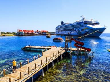 Roatán tiene los protocolos listos  para la reactivación de cruceros