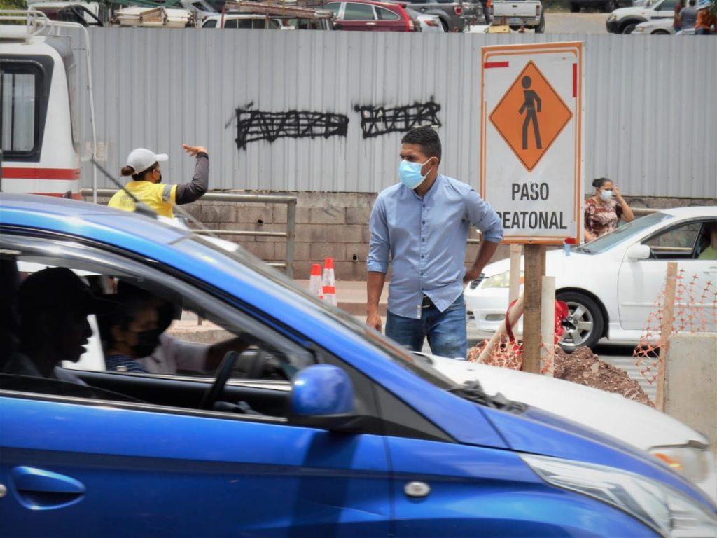 trafico tegucigalpa
