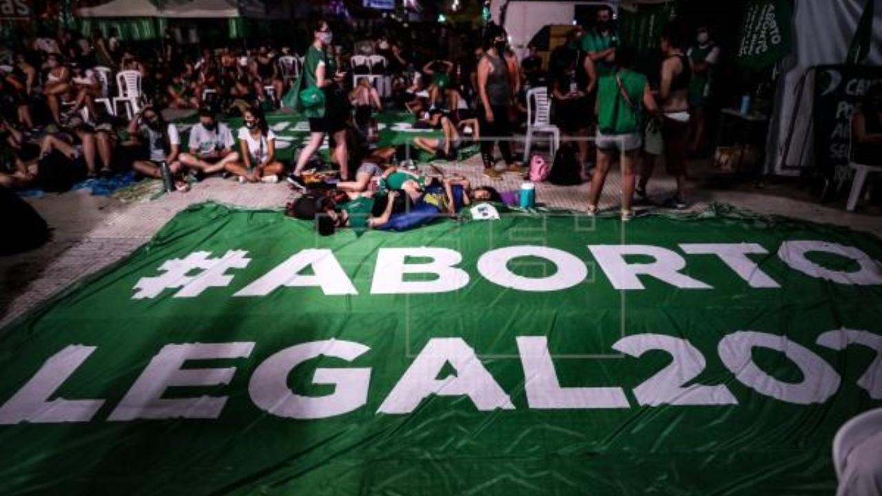 Desde el 24 de enero del 2021, el aborto fue legalizado en Argentina