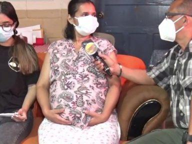 Hondureña clama por ayuda para costear tratamiento contra el cáncer de estómago