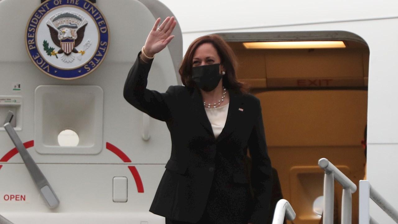 La vicepresidenta de Estados Unidos se comprometió a visitar la frontera entre México y Estados Unidos, punto de la migración irregular