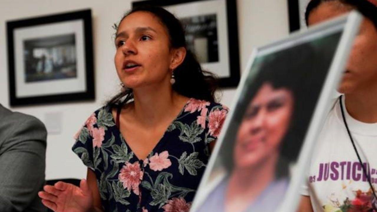 """Bertha Zúñiga, una de las hijas de la activista asesinada, indicó que el juicio contra Castillo es """"una etapa muy importante"""" para alcanzar """"la justicia que hemos estado demandando"""" hace más de cinco años"""