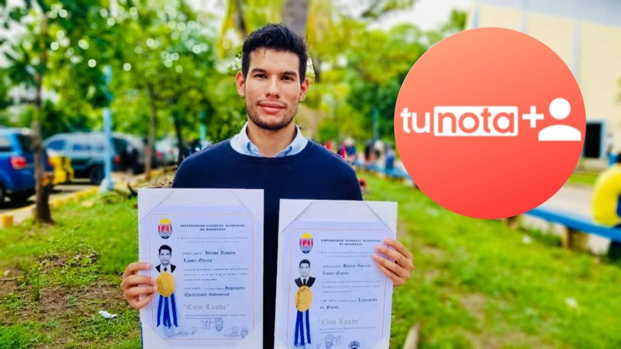 El joven cuenta su experiencia en tunota positiva al graduarse con máximos honores en física e ingeniería eléctrica, trabajando y estudiando, además, innova con su primer emprendimiento que ya ha sido premiado a nivel nacional y solicitado fuera de Honduras