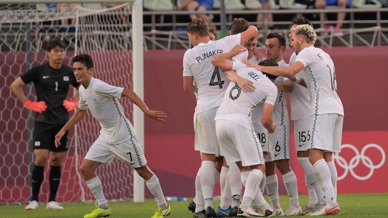 EL próximo rival de Honduras fue superior ante Corea del Sur, el gol de los neozelandeses fue obra del goleador del Burnley