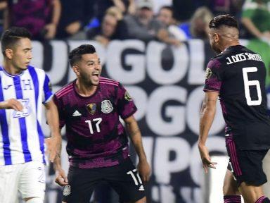 ¡Eliminados! México golea 3-0 a Honduras y acaba con el sueño catracho de una Copa Oro