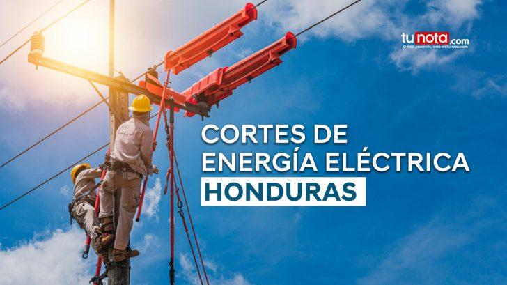 ¡Atención! Estas zonas de San Pedro Sula no tendrán energía eléctrica el lunes 26 de julio